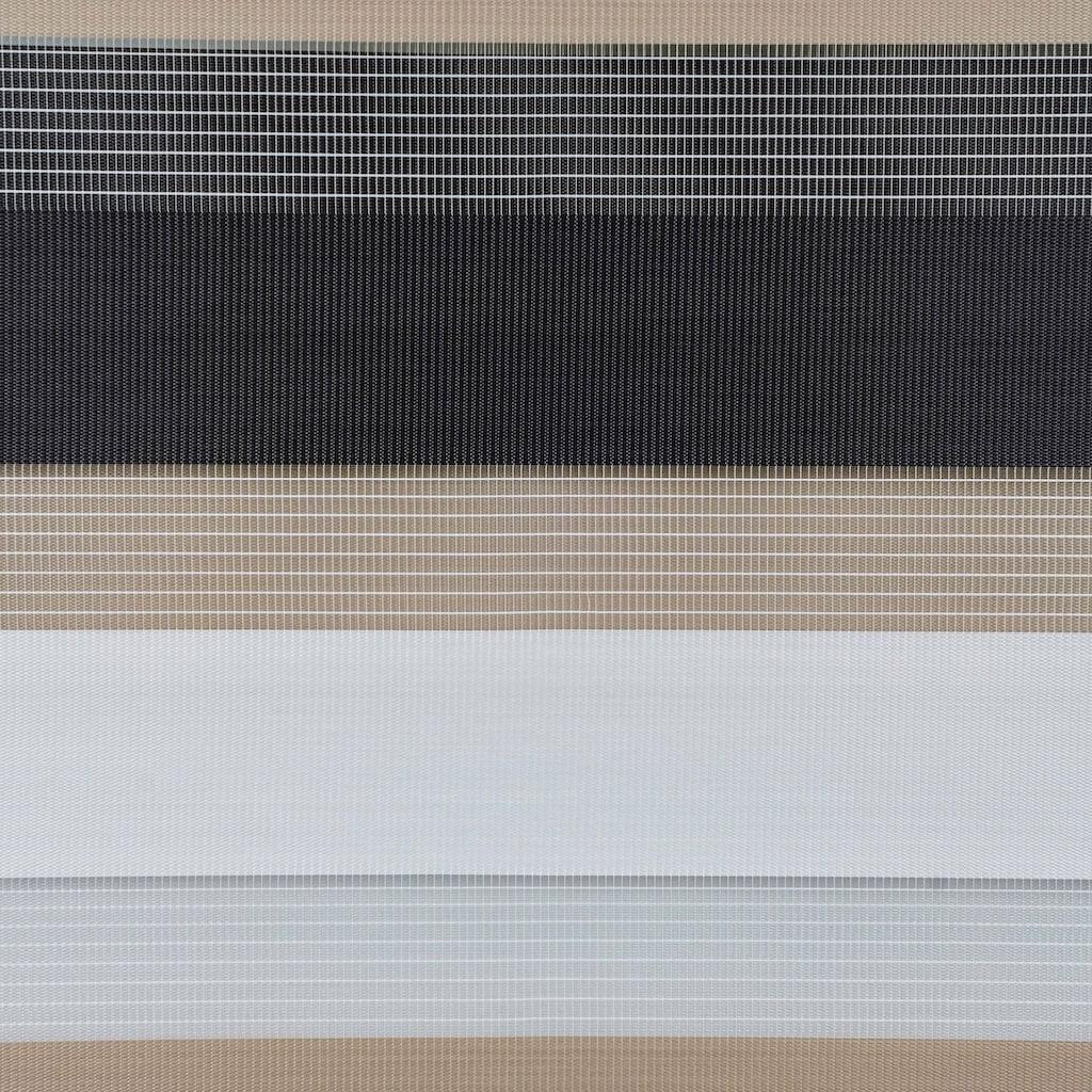 mydeco Doppelrollo »Just-Triple«, Lichtschutz, ohne Bohren, freihängend, Montage ohne Bohren