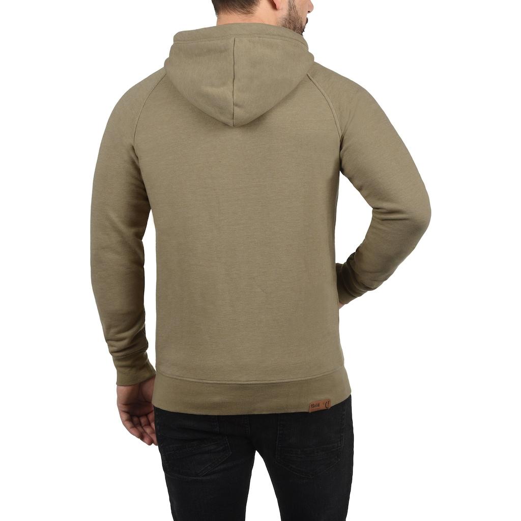 Solid Kapuzensweatjacke »Vitu«, Sweatshirtjacke mit hochabschliessendem Kragen