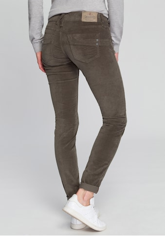 Herrlicher Slim-fit-Jeans »TOUCH SLIM VELVET STRETCH«, in Samt-Optik kaufen