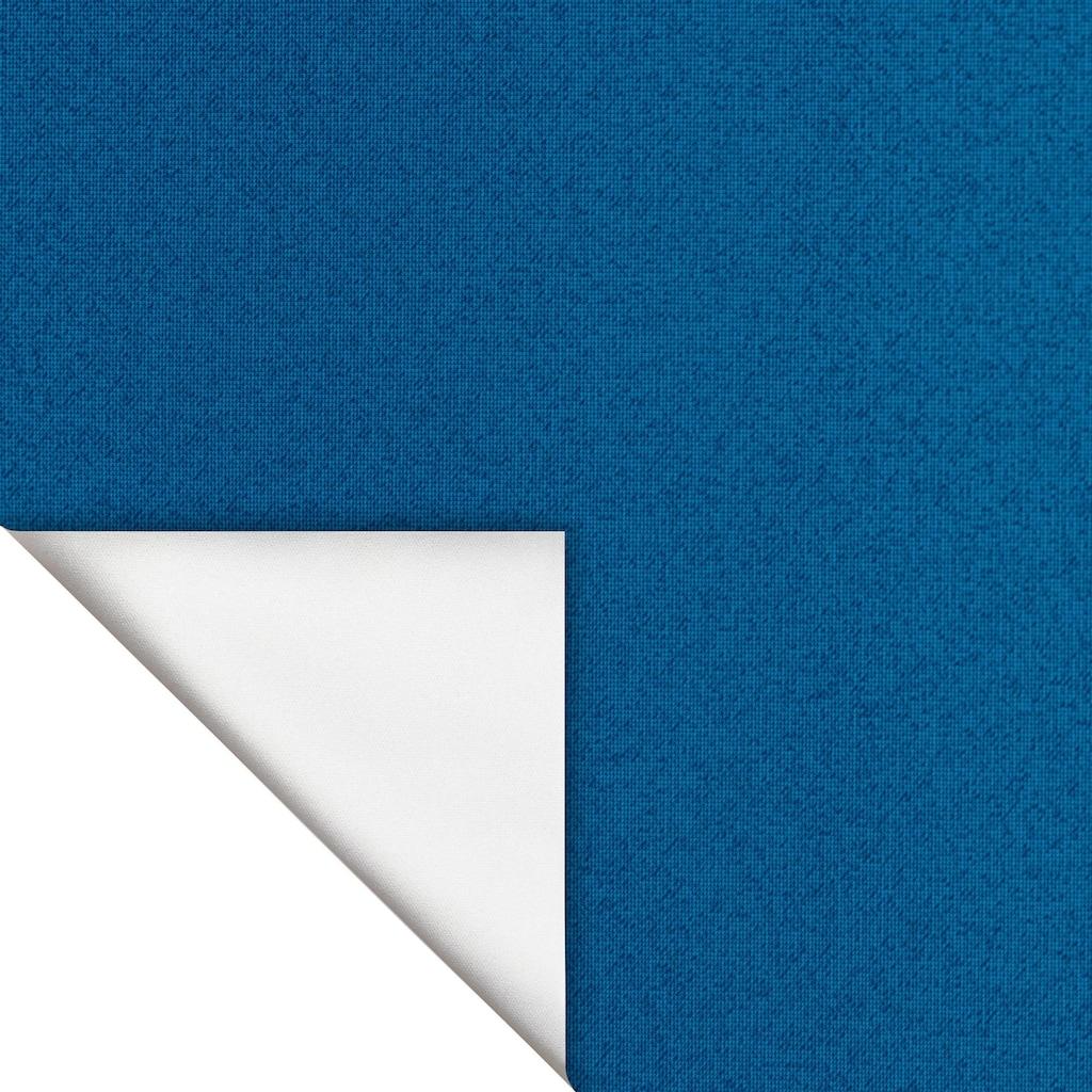 LICHTBLICK ORIGINAL Dachfensterrollo »Haftfix Hitzeschutz Verdunkelung«, abdunkelnd, Perlreflex-beschichtet-energiesparend, ohne Bohren, verspannt, mit Thermobeschichtung