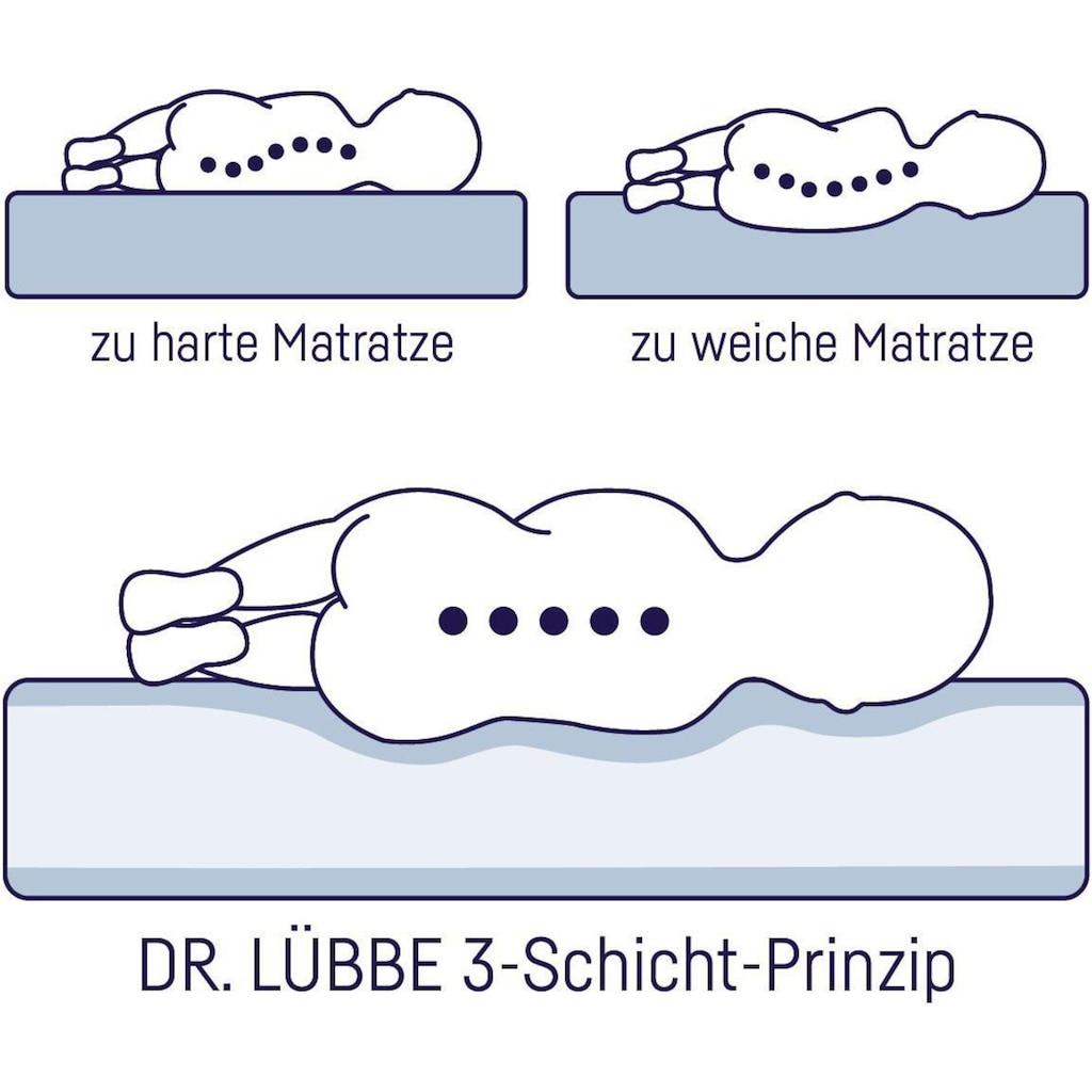 Julius Zöllner Kaltschaummatratze »Dr. Lübbe Air Plus«, (1 St.), Matratze für Babys & Kleinkinder