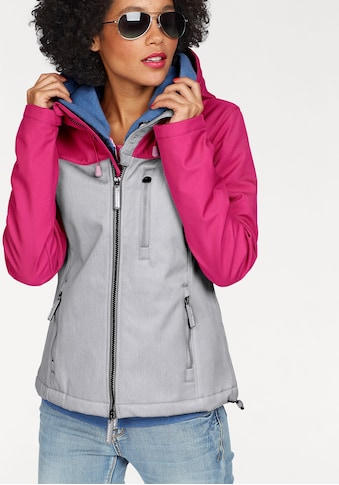 Superdry Kurzjacke »HOODED RETRO WINDTREKKER«, im Trend Colourblocking kaufen