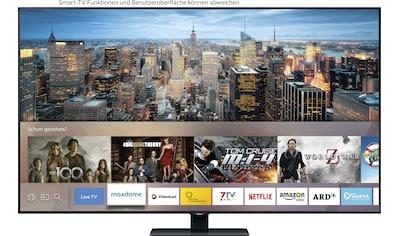 Samsung GQ55Q80T QLED - Fernseher (138 cm / (55 Zoll), 4K Ultra HD, Smart - TV kaufen