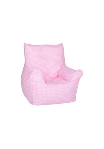 Knorrtoys® Sitzsack »Junior - Pink White Dots« kaufen