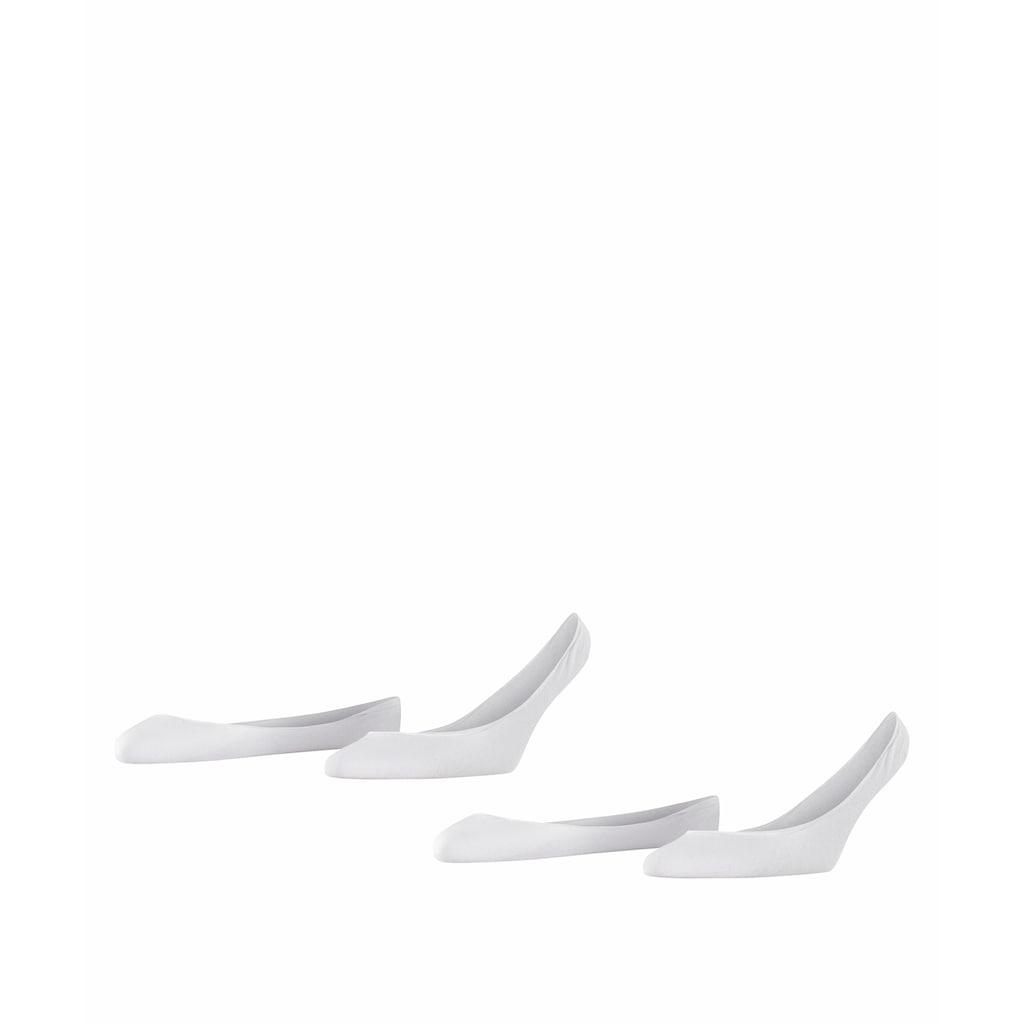 Esprit Füsslinge »Basic 2-Pack«, (2 Paar), für ein sicheres Laufgefühl