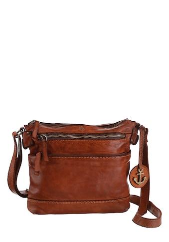 HARBOUR 2nd Umhängetasche »Isalie«, aus Leder mit typischen Marken-Anker-Label und... kaufen