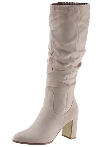 Tamaris Stiefel, mit gerafftem Schaft kaufen