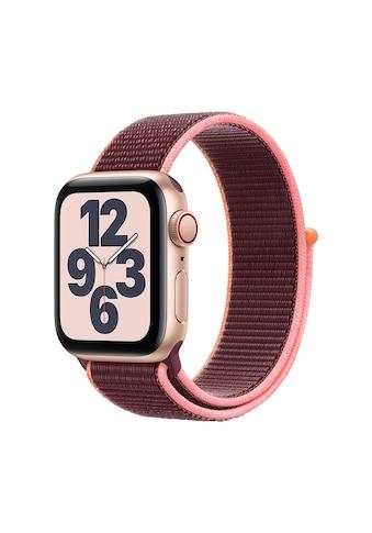 Apple Smartwatch »Serie SE, GPS Cellular, 40 mm Aluminium-Gehäuse mit Sportarmband... kaufen