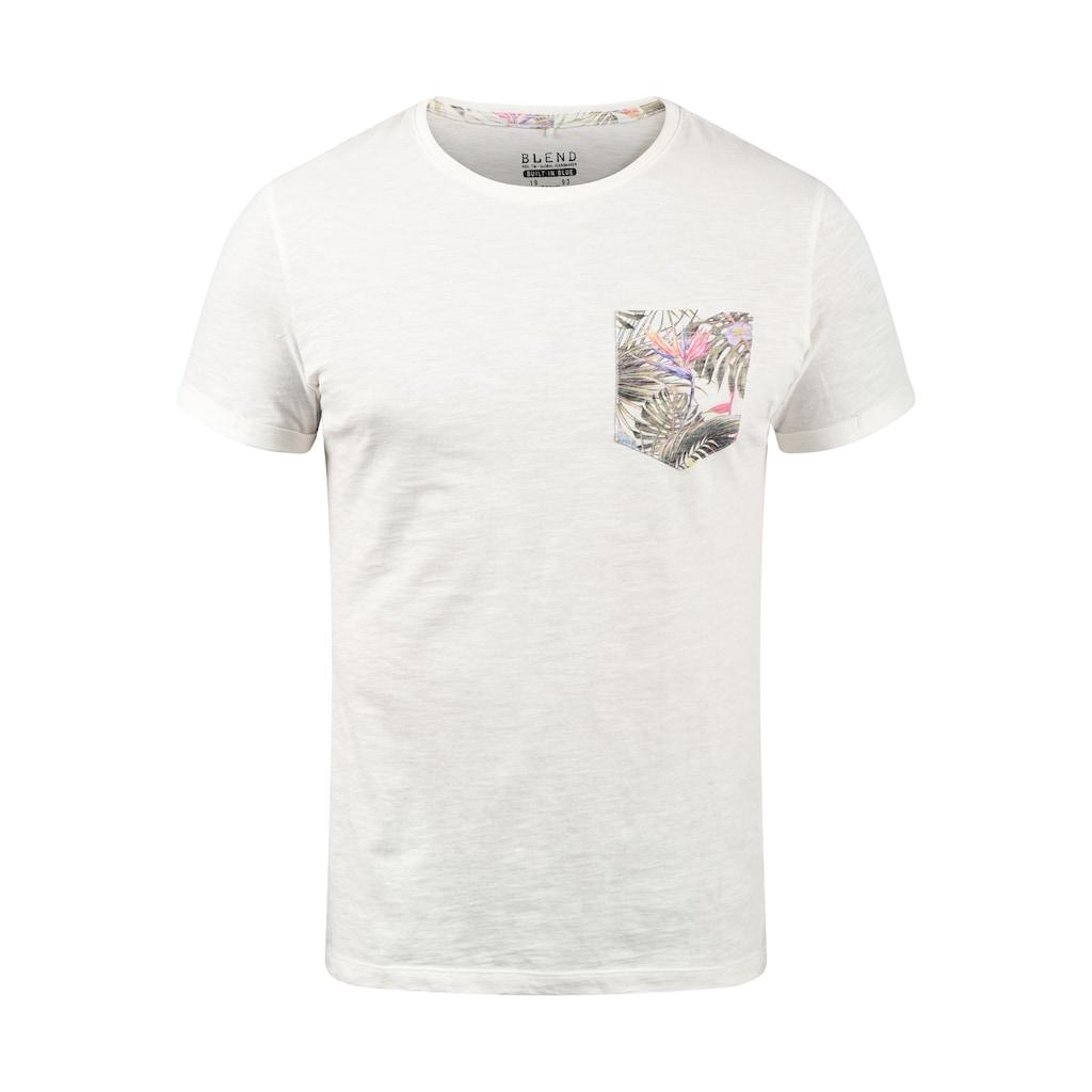 Blend Rundhalsshirt »Florens«, T-Shirt mit Brusttasche