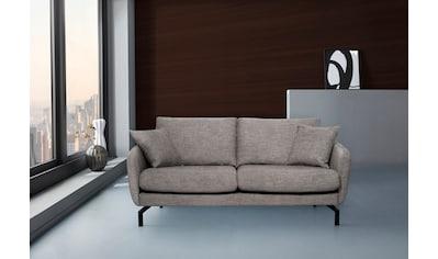 Places of Style 2-Sitzer »Kanata«, stabiles Holzuntergestell, mit Metall Füssen kaufen