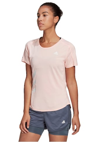 adidas Performance Laufshirt »RUN IT TEE 3 STRIPES WOMEN« kaufen