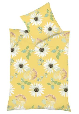 fleuresse Bettwäsche »Bahamas 4148 (2tlg.), Seersucker«, mit sommerlichen Margeriten kaufen