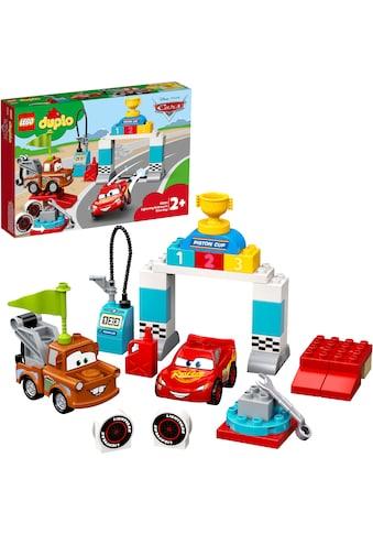 LEGO® Konstruktionsspielsteine »Lightning McQueens grosses Rennen (10924), LEGO®... kaufen