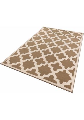 Zala Living Teppich »Noble«, rechteckig, 9 mm Höhe, Kurzflor, gekettelt, Wohnzimmer kaufen