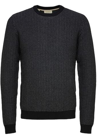 SELECTED HOMME Rundhalspullover »AIDEN CREW NECK« kaufen