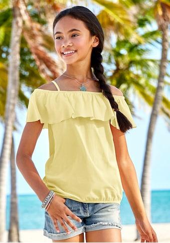 KIDSWORLD Carmenshirt, mit weitem Carmenausschnitt kaufen