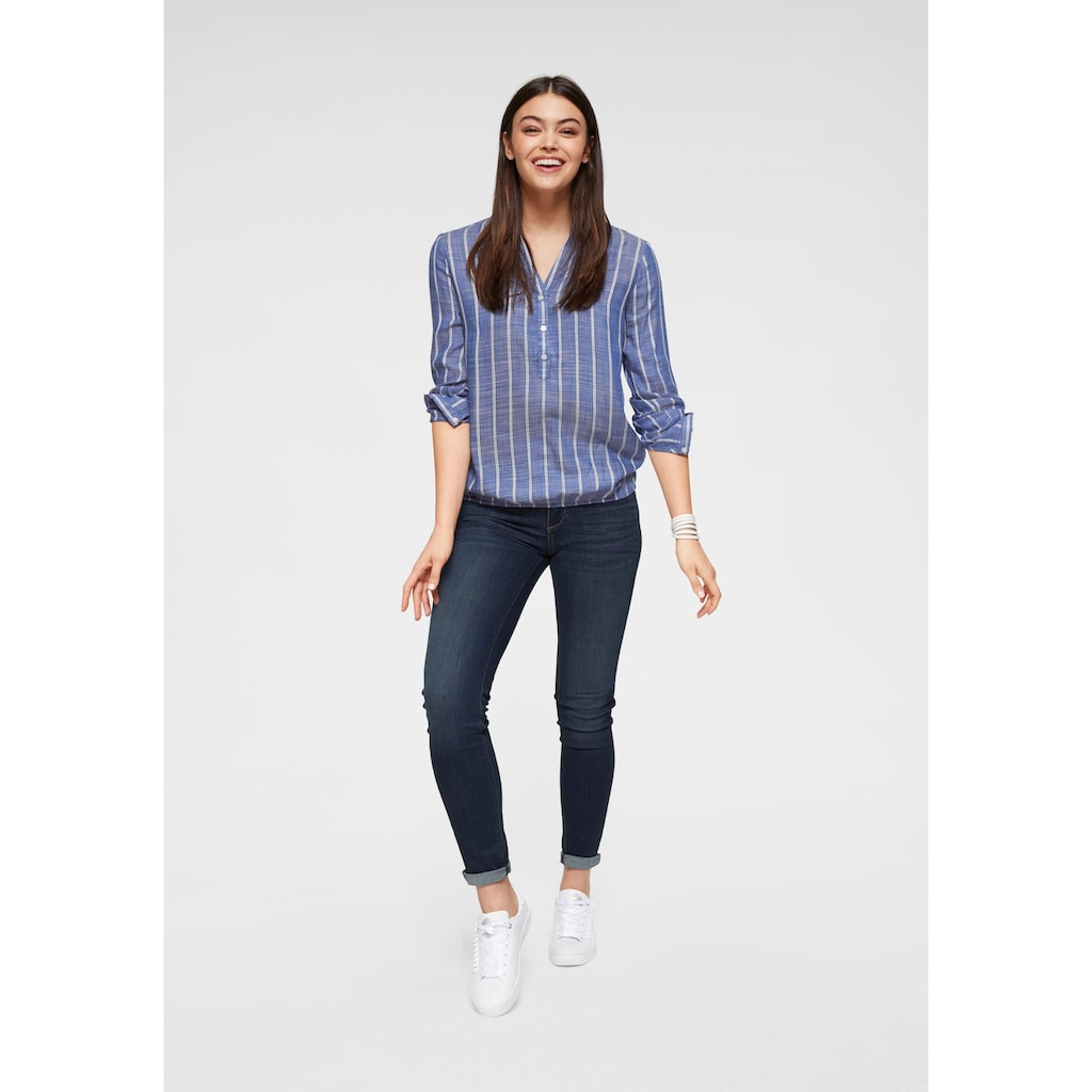 TOM TAILOR Skinny-fit-Jeans, in figurbetonter 5-Pocket-Form