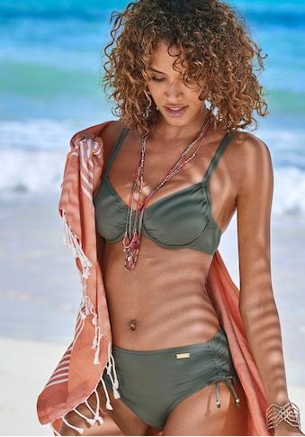 LASCANA Bügel-Bikini-Top »Italy«, seitlich zu raffen kaufen