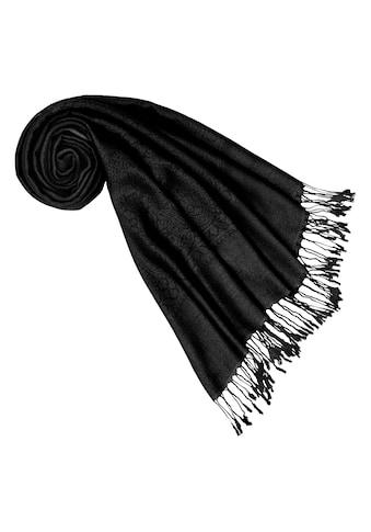 PURSET Schal, Stola mit Ornamentbordüre kaufen