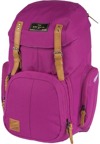 NITRO Laptoprucksack »Weekender, Grateful Pink« kaufen