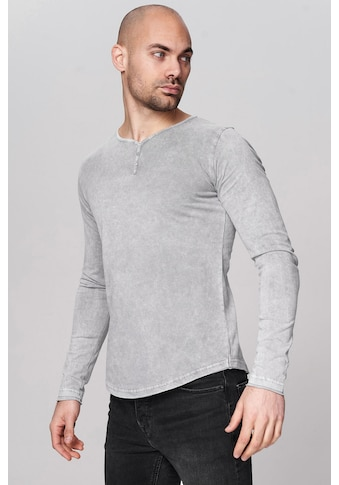 trueprodigy Langarmshirt »Premium Basic Ashton«, Henley kaufen