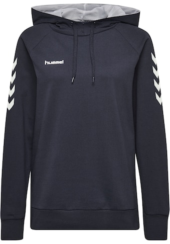 hummel Kapuzensweatshirt »HMLGO COTTON HOODIE WOMAN« kaufen