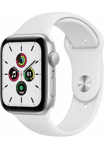 Apple Smartwatch »Apple Watch Series SE GPS, Aluminium, 44 mm mit Sportarmband«,  kaufen