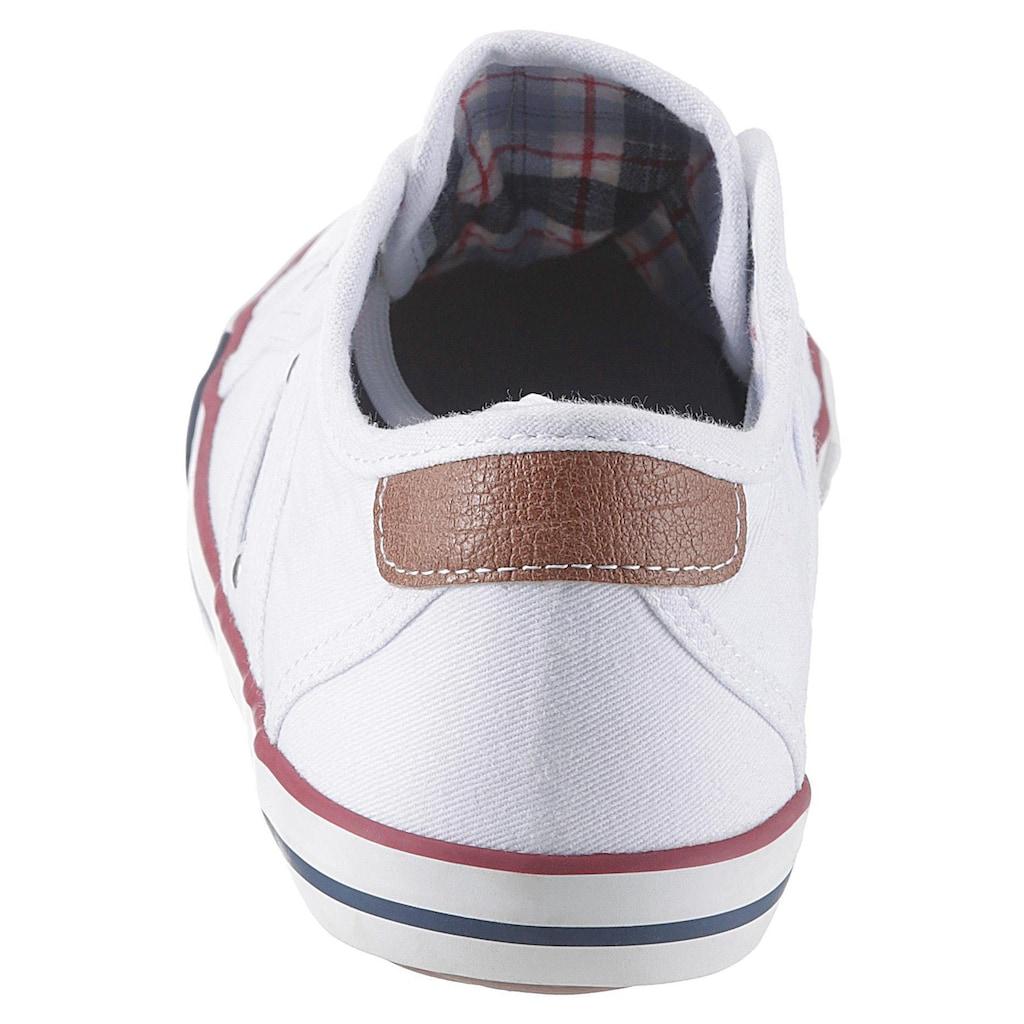 Mustang Shoes Sneaker, mit Logoschriftzug