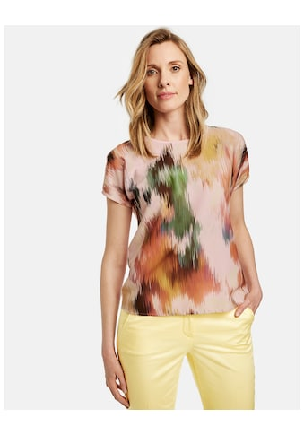 GERRY WEBER T - Shirt 1/2 Arm »Shirt mit Satinfront« kaufen