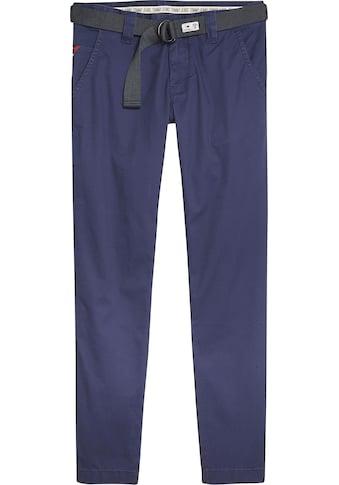 Tommy Jeans Chinohose »TJM SCANTON DOBBY CHINO PANT«, (Set, mit abnehmbarem Gürtel) kaufen