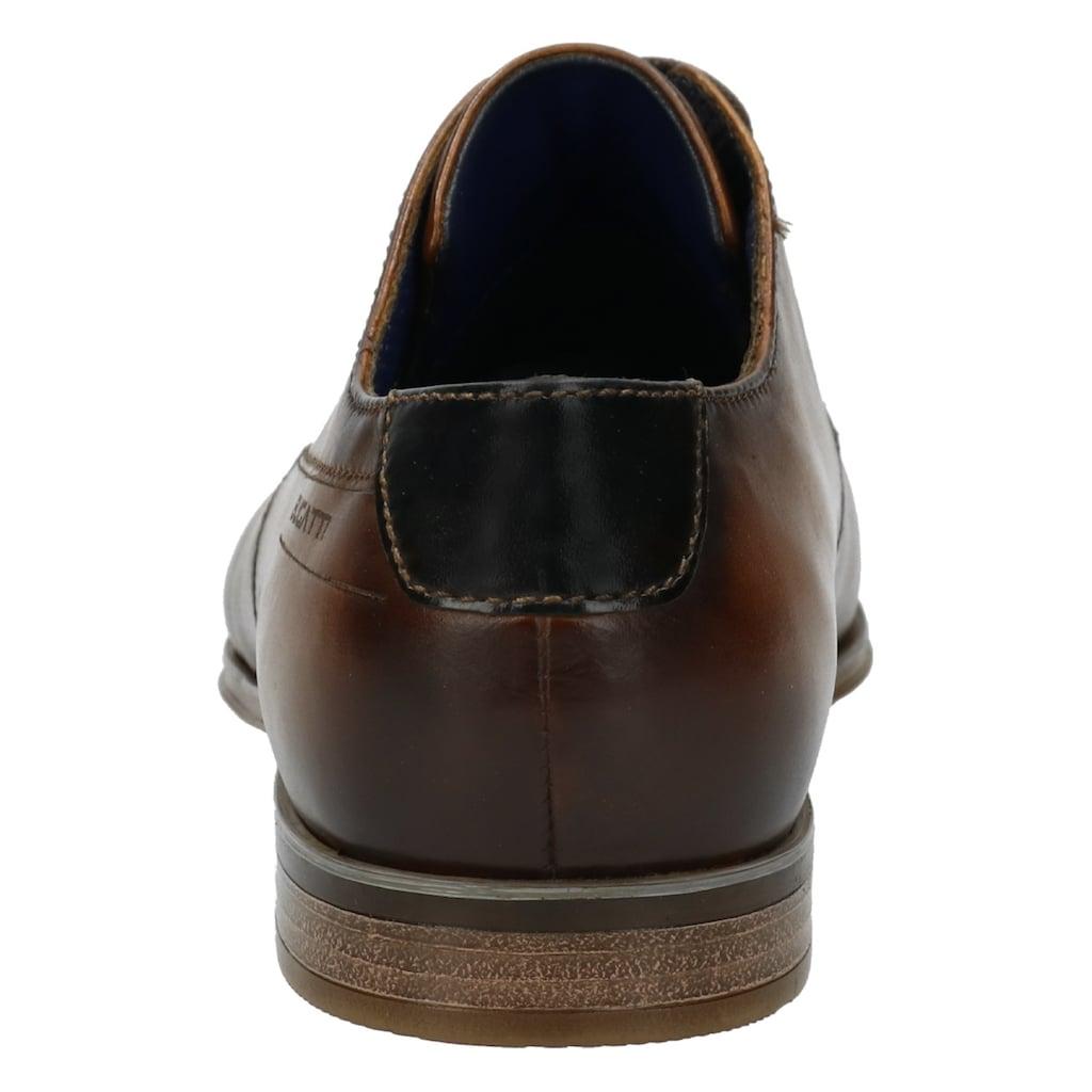 bugatti Schnürschuh »Morino«, weich gepolstert