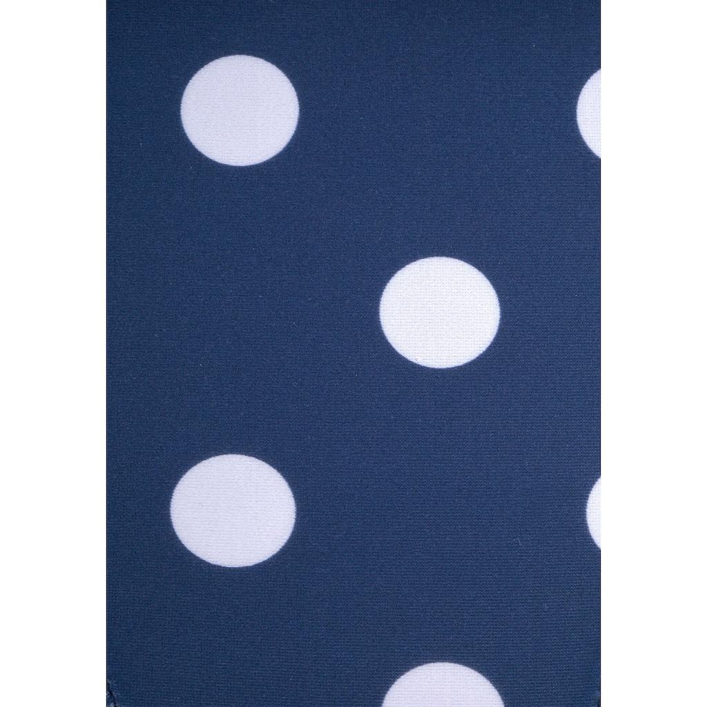 LASCANA Badeanzug, im Punkte-Design