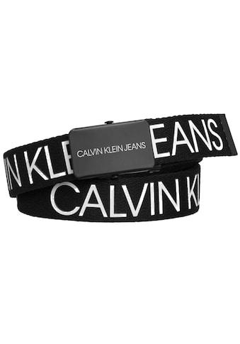 Calvin Klein Jeans Koppelgürtel »CANVAS LOGO BELT« kaufen