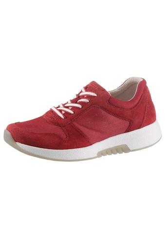 Gabor Rollingsoft Keilsneaker, im sommerlichem Materialmix kaufen