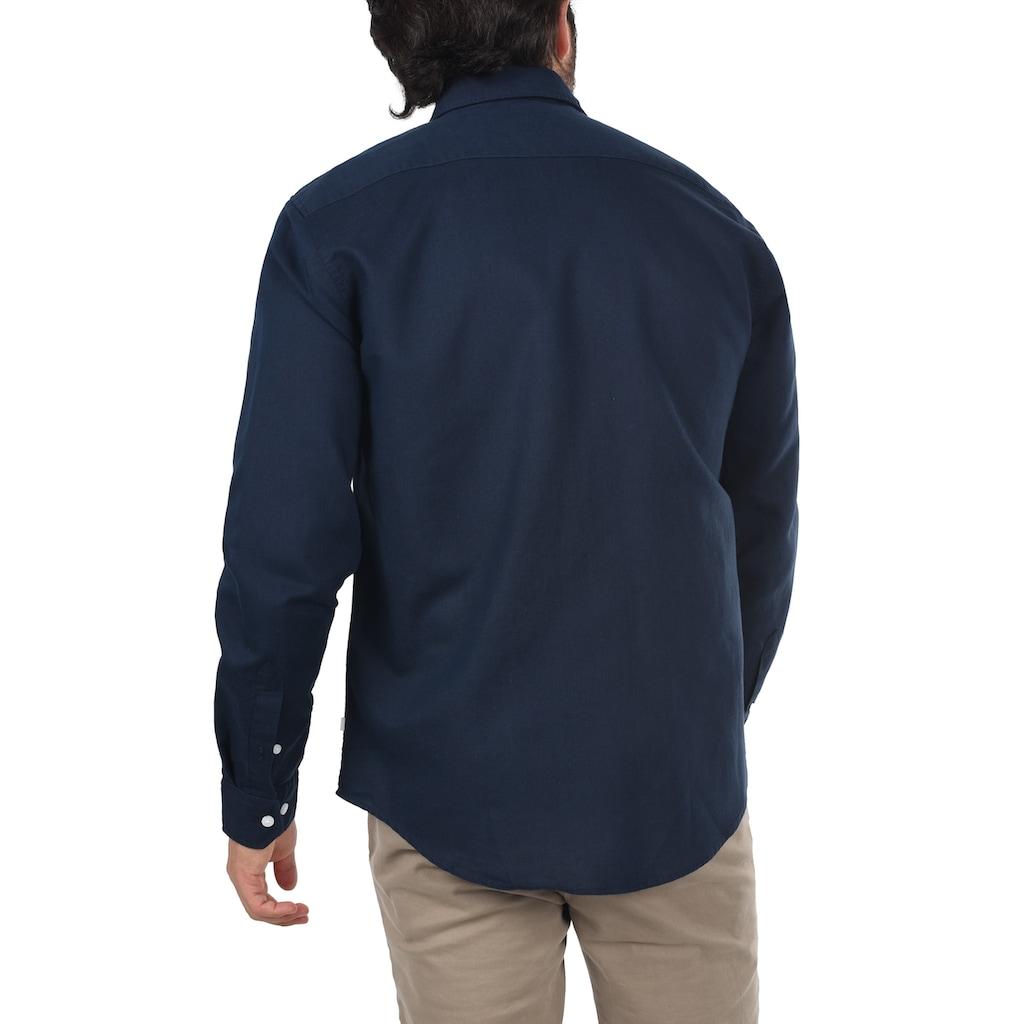 Casual Friday Langarmhemd »20503328«, Hemd mit Knopfleiste