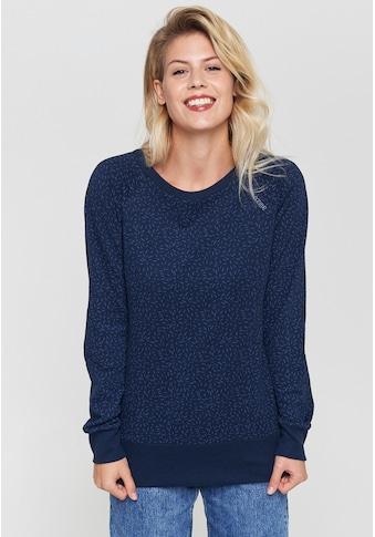 MAZINE Sweater »Moon«, mit Alloverprint kaufen