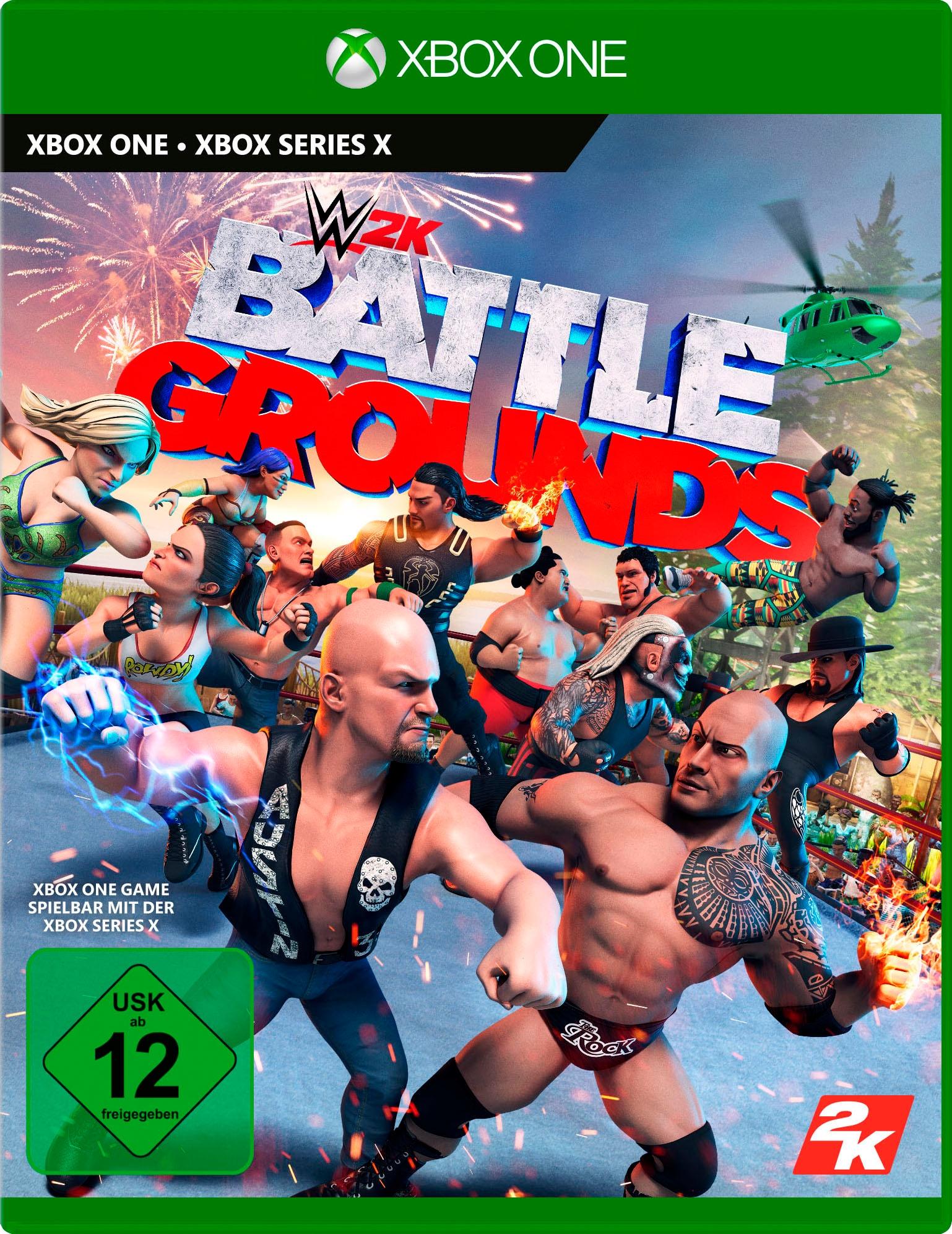 Image of 2K Spiel »WWE 2K Battlegrounds«, Xbox One