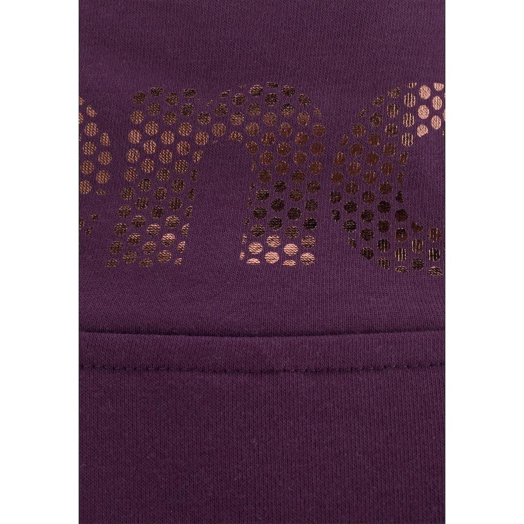 Bench. Sweatshirt, in lässiger Troyerform