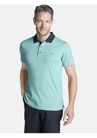 Charles Colby Poloshirt »MAXEN«, mit gemustertem Kragen kaufen