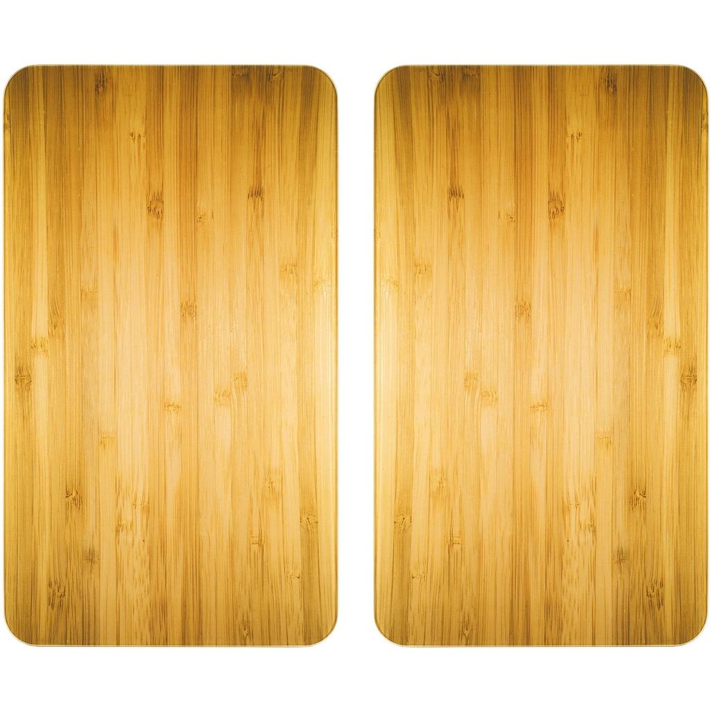WENKO Herd-Abdeckplatte »Universal Holz-Optik«