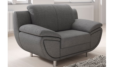 TRENDMANUFAKTUR Sessel, wahlweise mit komfortablem Federkern, mit extra breiten... kaufen
