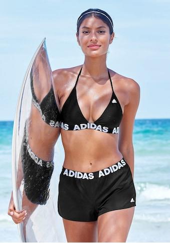 adidas Performance Badeshorts, Mit Markenschriftzügen kaufen