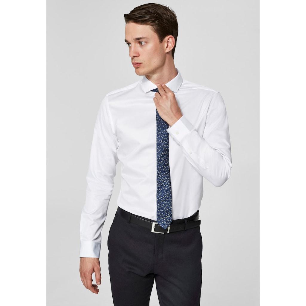 SELECTED HOMME Langarmhemd »REGSEL-PELLE SHIRT«