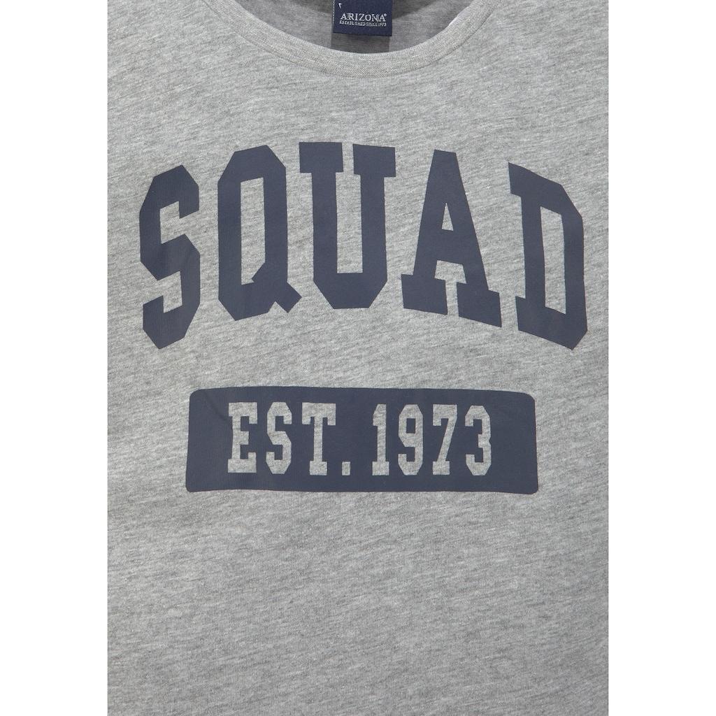 Arizona T-Shirt, in kurzer kastiger Form