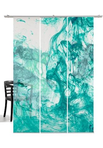 emotion textiles Schiebegardine »Storm of colours«, HxB: 260x60, mit Befestigungszubehör kaufen