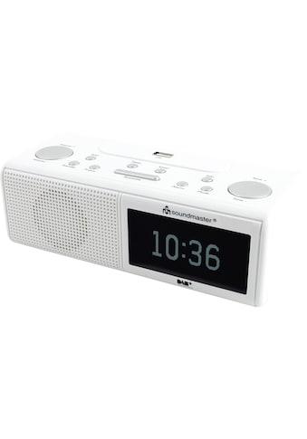 Radiowecker, soundmaster, »UR8350WE Weiss« kaufen