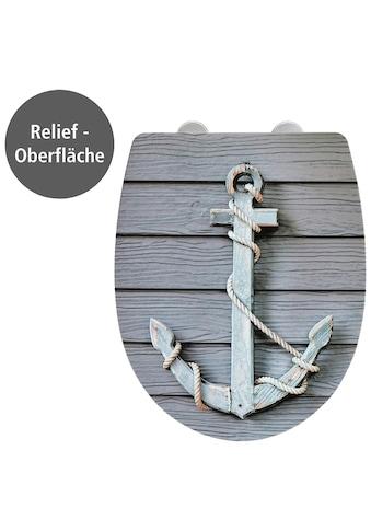 WENKO WC-Sitz »Rope mit Relief«, Thermoplast kaufen