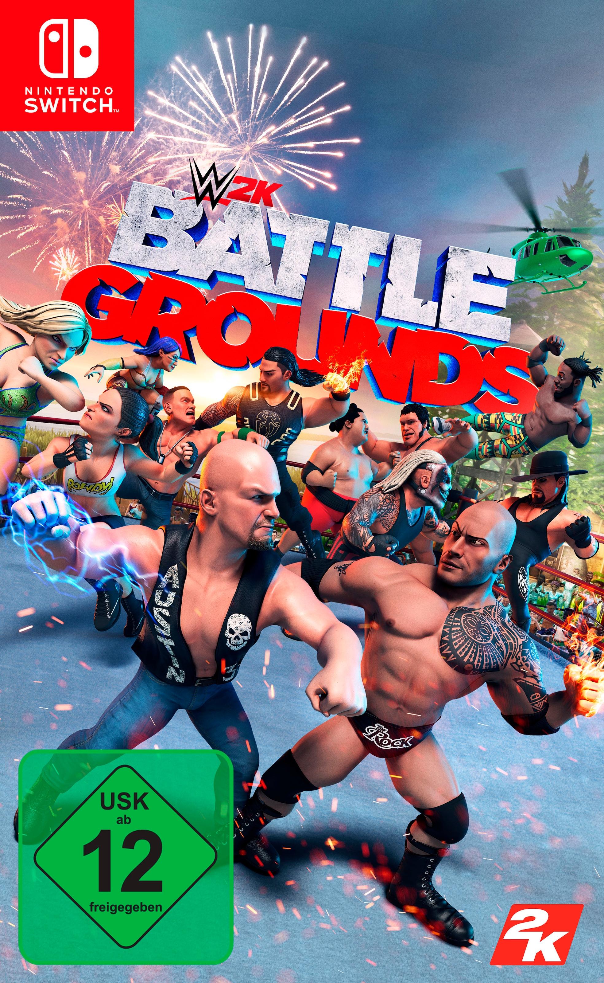 Image of 2K Spiel »WWE 2K Battlegrounds«, Nintendo Switch