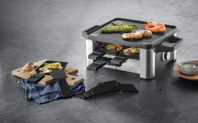Kompaktes Raclette für bis zu 4 Personen