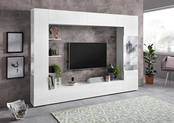 TV-Möbel in Weiß Hochglanz
